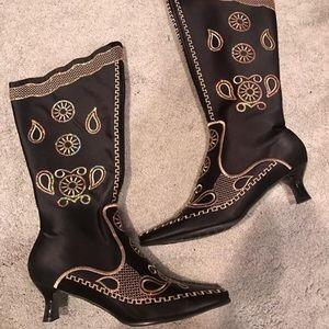 Shoes - Black Vintage Boots